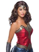 WW2 Movie Wonder Woman Wig Adult