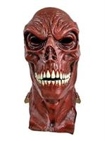 Adult Red Skull Marvel Overhead Latex Mask Accessory