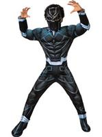 Boys Deluxe Black Panther Costume