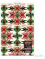 Krampus Gift Wrapping Paper, Set of 2