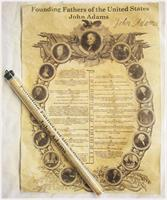 Historic U.S. Document Reproduction: John Adams