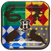 "Harry Potter 9"" Square Paper Party Plates, 8-Pack"