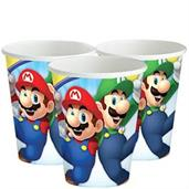 Super Mario Bros. 9oz Paper Cups, 8 Count