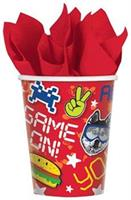 Epic Party 9oz Paper Party Cups, 8-Pack