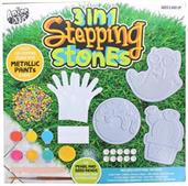 3 in 1 Stepping Stones Craft Kit | Makes 3 Stepping Stones