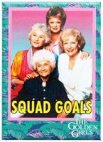 "The Golden Girls ""Squad Goals"" 2.5"" x 3.5"" Magnet"