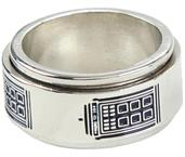 Doctor Who Tardis Spinner Ring