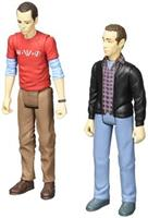 "The Big Bang Theory Sheldon & Stuart (Con Exclusive) 3 3/4"" Action Figures"
