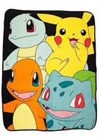 "Pokemon Multi Character 48""x60"" Throw Blanket"