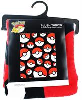 "Pokemon Pokeball 48"" x 60"" Throw Blanket"