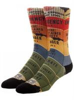 Fantastic Beasts And Where To Find Them Threat Level Crew Socks