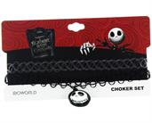 Nightmare Before Christmas Choker Necklace: Jack