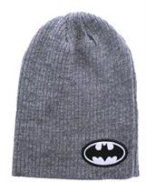 Batman Logo Grey Beanie