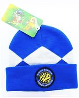 Power Rangers Costume Beanie Hat Blue Ranger