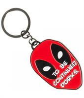 "Marvel Deadpool ""Dorks"" Metal Keychain"