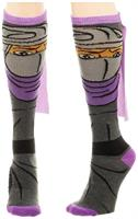 Teenage Mutant Ninja Turtles Shredder Caped Women's Knee High Socks