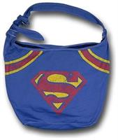 DC Comics Superman Logo Hobo Bag