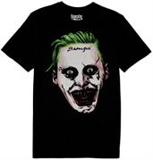 Suicide Squad Joker Face Shirt