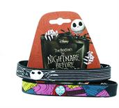 Nightmare Before Christmas Jack and Sally Wristband Set