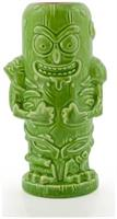 Geeki Tikis Rick & Morty Pickle Rick | Ceramic Tiki Style Mug | Holds 14 Ounces