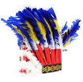 Native American Feather Headdress Adult Costume Hat