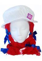 Raggedy Anne Costume Hat