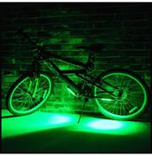 Brightz LED Bicycle Safety Light Cycling Bike Accessory Green