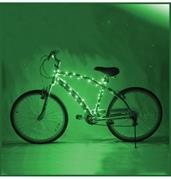 Cosmic Brightz LED Bicycle Light Accessory: Green