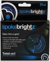 Spoke Brightz LED Bicycle Spoke Accessory, Blue