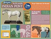 Breyer 70th Anniversary 1:9 Scale Model Horse | Indian Pony