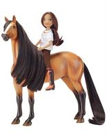 Spirit Riding Free 1:12 Classics Model Horse Set: Spirit and Lucky