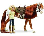 Spirit Riding Free 1:12 Classics Model Horse Set: Boomerang and Abigail