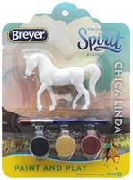 Breyer Spirit Riding Free Paint and Play Kit: Chica Linda