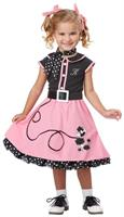 50's Poodle Cutie Child Costume