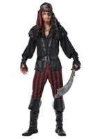 Ruthless Rogue Pirate Adult Costume