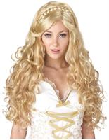 Blonde Mythic Goddess Long Costume Wig Adult