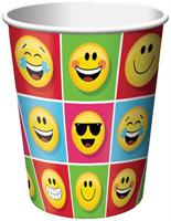 Show Your Emojions 9oz Hot/Cold Paper Cups: 8 Count