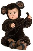 Plush Monkey Baby Costume