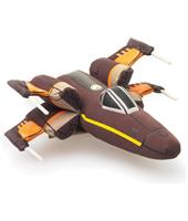 Star Wars The Force Awakens Plush Resistance X-Wing Fighter