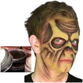 Black Cream Costume Make Up 1/8 oz Carded