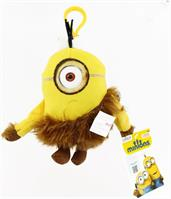 "Minion Movie 5"" Plush Clip-On: Jungle Minion (1 Eye)"