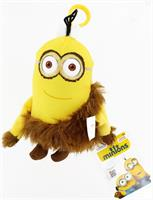 "Minion Movie 5"" Plush Clip-On: Jungle Minion (2 Eyes)"