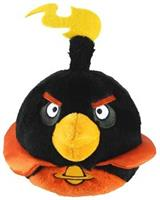 "Angry Birds Space 16"" Talking Plush: Black Bird"