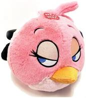 "Angry Birds 8"" Talking Plush: Pink Bird"