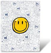 OFFICIAL Smiley World Soft Throw Blanket | Cute Plush Blanket | 50 x 60 Inches