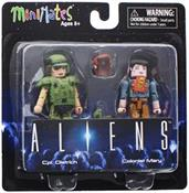 Aliens Cpl. Dietrich & Colonist Mary 2-Pack Series 1 Minimates