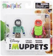 Muppets Minimates Series 2 2-Pack: Crazy Harry & Mahna Mahna