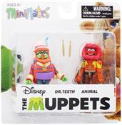 Muppets Dr. Teeth & Animal 2-Pack Series 2 Mini mates
