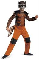 Guardians Of The Galaxy Marvel Classic Rocket Raccoon Child Costume