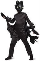 How To Train Your Dragon Toothless Deluxe Child Costume